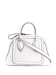 Alexander Mcqueen Pinter Tote Bag White