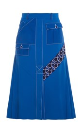 Peter Pilotto Pocket Midi Skirt Blue