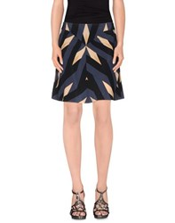 Marc By Marc Jacobs Skirts Knee Length Skirts Women Slate Blue
