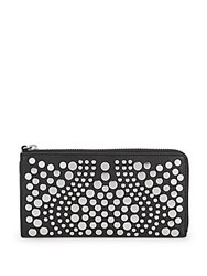 Vince Camuto Studded Leather Wallet Foxy
