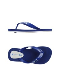 Y 3 Footwear Thong Sandals Women Bright Blue