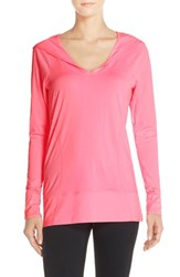 Women's Zella 'New Beginnings' Jersey Hoodie Pink Glow