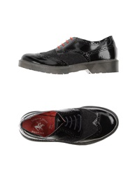 Beverly Hills Polo Club Lace Up Shoes Black