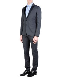 Messagerie Suits And Jackets Suits Men Steel Grey