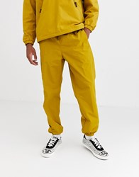 Obey Easy Outdoor Jogger In Yellow