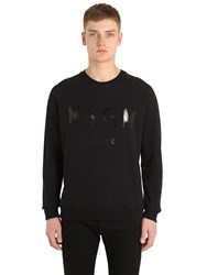 Msgm Logo Printed Cotton Sweatshirt