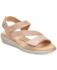 Easy Spirit Kailynne Sandals Women's Shoes Taupe