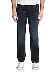 Cult Of Individuality Harbor Relaxed Straight Leg Jeans Blue