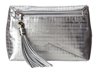 Rafe New York Eva Clutch Crossbody Silver Screen Cross Body Handbags