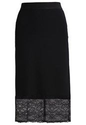 Anna Field Pencil Skirt Black