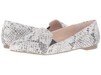 Dr. Scholl's Require Original Collection Black Multi Snake Print Leather Women's Flat Shoes White