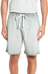 Daniel Buchler Men's Vintage Washed Lounge Shorts