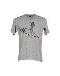 Pharmacy Industry Topwear T Shirts Men Grey