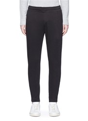 Theory 'Matthewe' Cotton Sweatpants Black