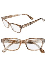 Corinne Mccormack 'Sydney' 51Mm Reading Glasses Transparent Marble