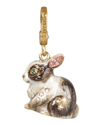 Hugh Bunny Charm Jay Strongwater Multi Colors