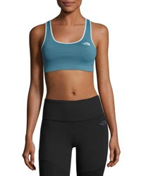The North Face Bounce B Gone Sports Bra Turquoise