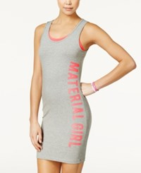 Material Girl Active Juniors' Layered Graphic Dress Only At Macy's