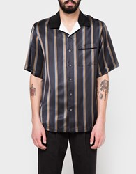 3.1 Phillip Lim Ss Bowler Shirt Striped Navy