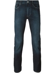 Diesel Black Gold Straight Leg Jeans Blue