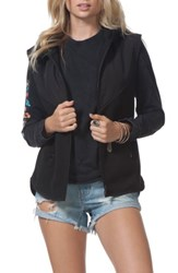 Rip Curl Women's Bleaker Anti Series Hooded Vest Black