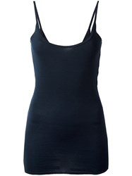 Kristensen Du Nord Fitted Tank Top Blue