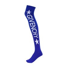 Givenchy Knitted Over The Knee Socks Blue