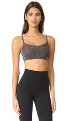 Natori Zen Sport Bra Graphite Heather Print