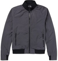 Orlebar Brown Maddox Slim Fit Shell Bomber Jacket Navy