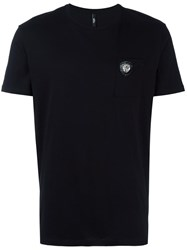 Versus Chest Pocket T Shirt Black