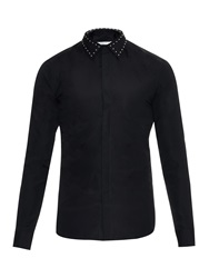 Givenchy Studded Collar Cotton Shirt