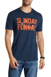 Kid Dangerous Sunday Funday Tee Blue