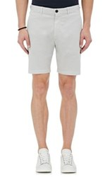 Theory Men's Zaine S Patton Cotton Blend Shorts Grey