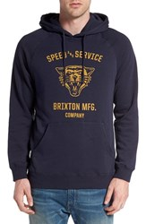 Brixton Men's 'Rydell' Graphic Fleece Hoodie