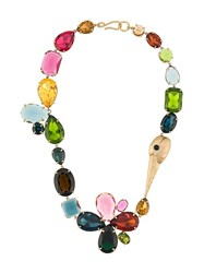 Tory Burch Conversational Stone Necklace 60
