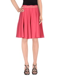 Alviero Martini 1A Classe Skirts Knee Length Skirts Women Fuchsia
