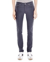 Sandro Pixies Slim Fit Jeans In Grey Gray