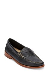 G.H. Bass Women's And Co. 'Whitney' Loafer Black Black Leather
