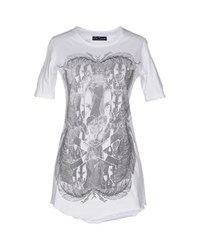Bad Spirit Topwear T Shirts Women White