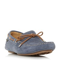 Loake Penny Loafer Blue