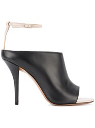 Givenchy Ankle Strap Mules Black