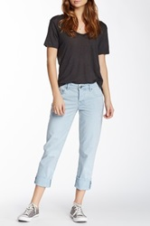 Stitch's Jeans Cropped Jean Blue