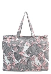 Roxy Single Water Tote Bag White Pink
