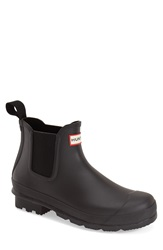 Hunter 'Original' Waterproof Chelsea Rain Boot Men Black