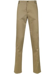 Kenzo Straight Leg Trousers Nude And Neutrals
