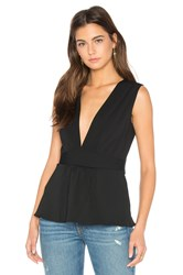 Amanda Uprichard Reva Tank Black