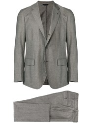 Tombolini Woven Formal Suit Grey