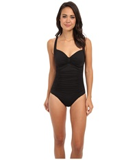 Seafolly Goddess Dd Halter Maillot Black Women's Swimsuits One Piece