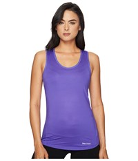 Marmot Aero Tank Top Electic Iris Women's Sleeveless Purple