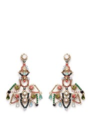 J.Crew Crystal Lace Earrings